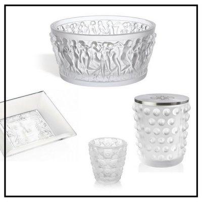 Coupes et coupelles / Bougeoirs photophores - Lalique