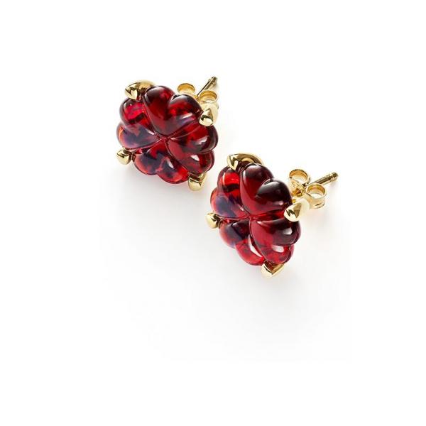 boucles-oreilles-cristal-rouge-trefle-baccarat