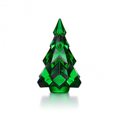 sapin Gstaad en cristal vert Baccarat edition 2020