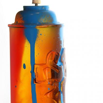 Kongo et Daum France bombe peinture en cristal