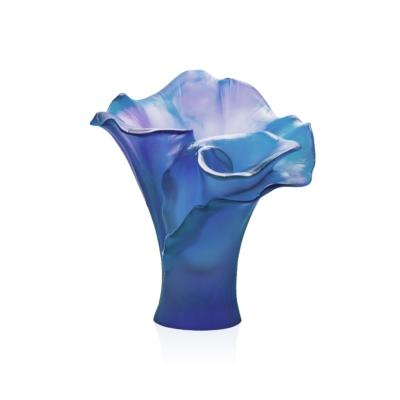 vase-pm-bleu-arum-daum-france