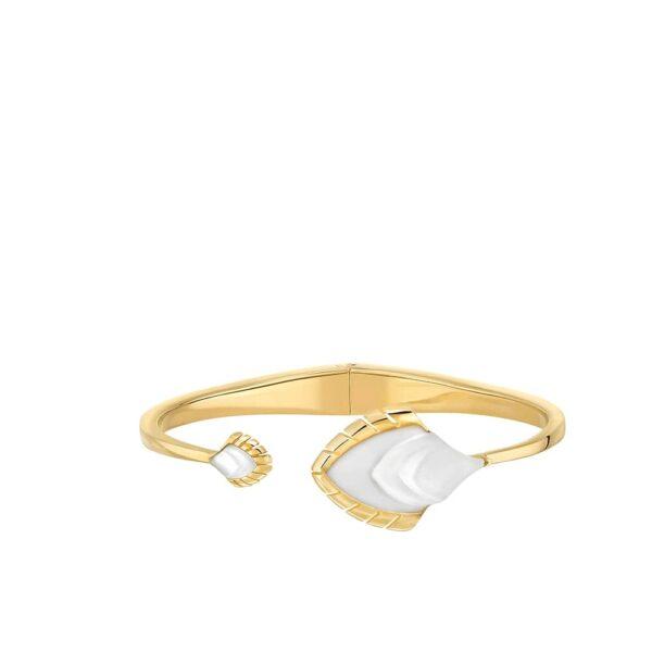 bracelet paon incolore lalique 2