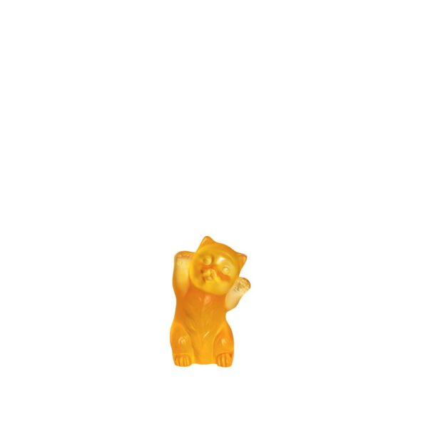 chaton-cristal-ambre-lalique