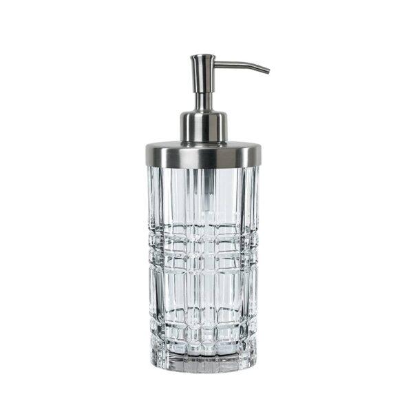 distributeur de savon en cristal square