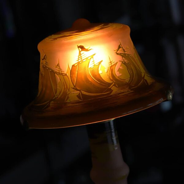 lampe tip galle bateau