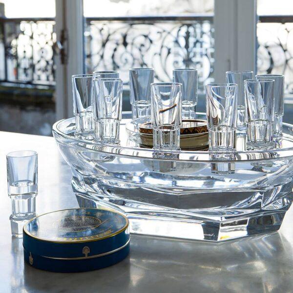 set caviar cristal de baccarat 2