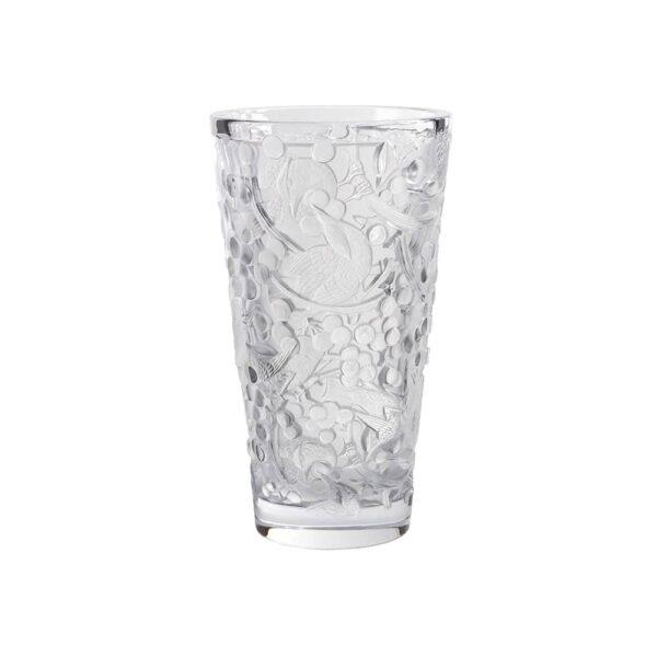 vase gm merles raisins lalique