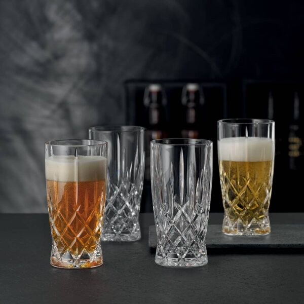 verre bierre cristal noblesse