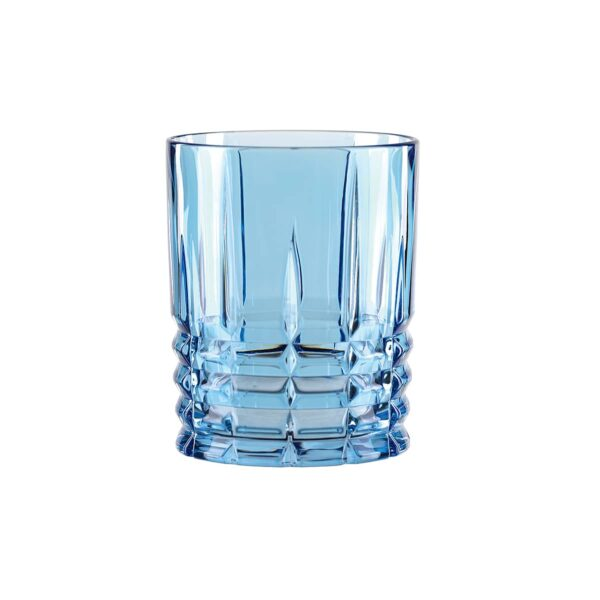 verre cristal bleu highland nachtmann