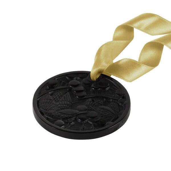 ornement-cristal-noir-merles-raisins-lalique